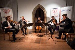 25. 9. 2021 – Zemlinského kvarteto, host. J. Pinkas;  Galerie Fr. Drtikola Příbram