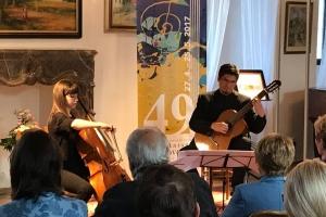 HF AD 2017 - 6. 5. 2017 - Jose Mario Obeso a Patrycia de la Fuente Lorenzo (duet kytary s violoncellem)