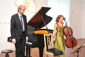 HFAD 2012 - Alžběta Vlčková violoncello + Ivo Kahánek klavír