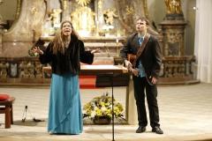 gospel, kostel sv.Jakuba