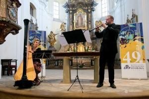 HF AD 2017 - 16.5. - Kateřina Englichová a Vilém Veverka - duet harfy s hobojem